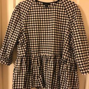 Victoria Beckham for Target peplum blouse